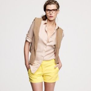 "J. Crew Broken-In 100% Cotton 5"" Chino Shorts"